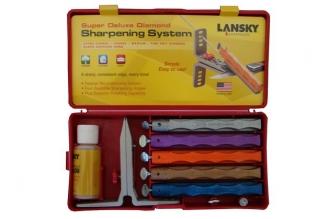 Набор для заточки ножей Super Deluxe Diamond Lansky